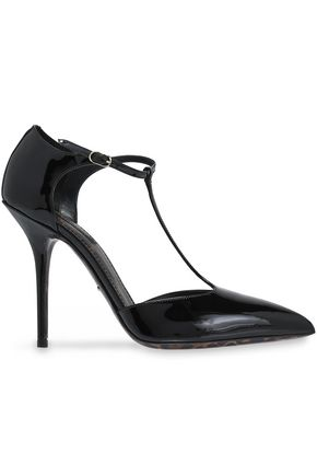 febd24221ab697 DOLCE   GABBANA Patent-leather pumps