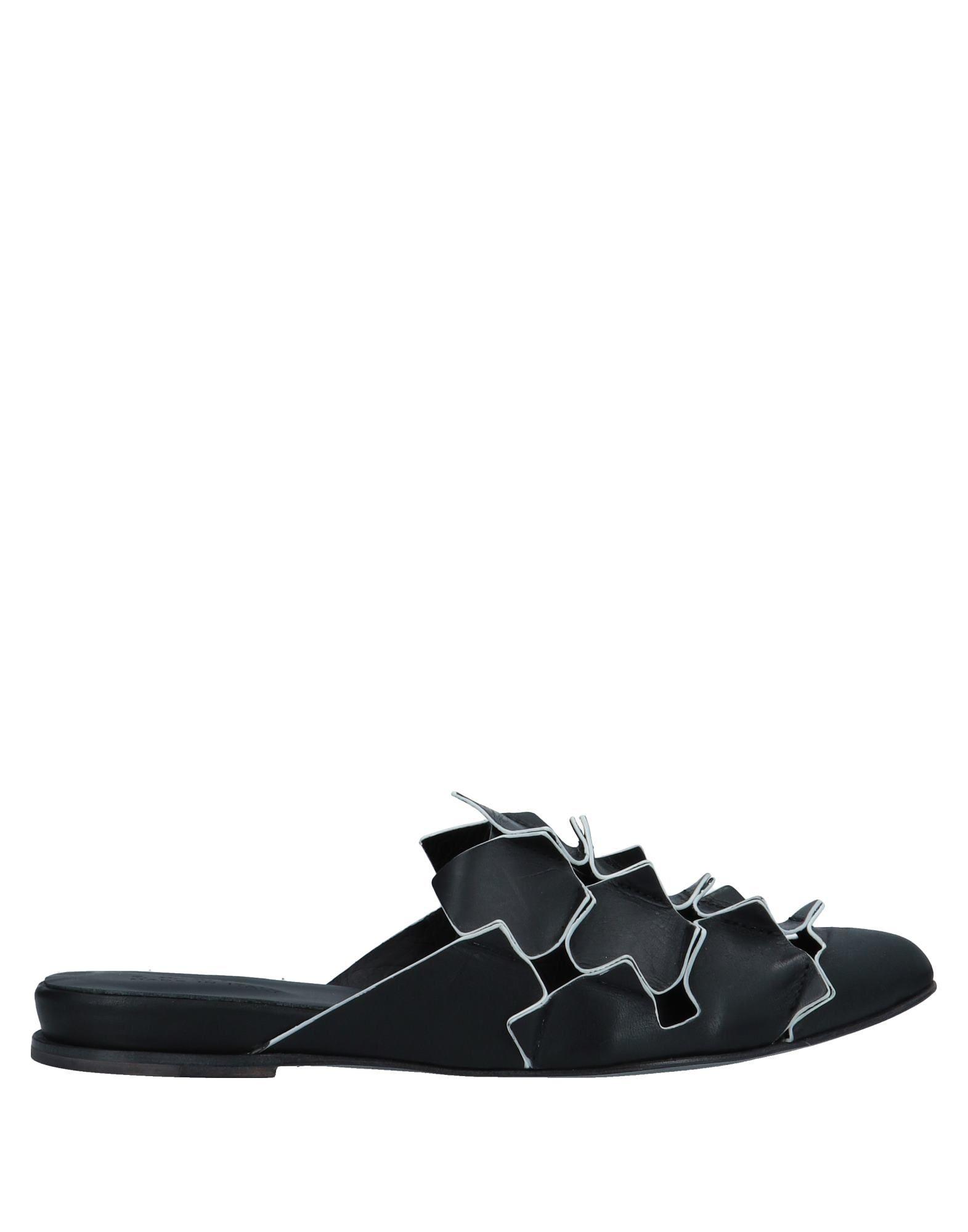 《送料無料》I.N.K. Shoes レディース ミュールサボ ブラック 39 革