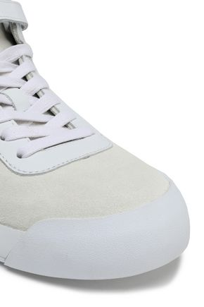 RAG & BONE Suede and leather sneakers