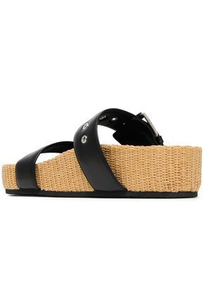 RAG & BONE Buckled leather sandals
