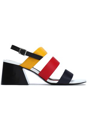 RAG & BONE Color-block leather sandals