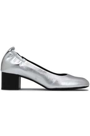 RAG & BONE Metallic leather pumps
