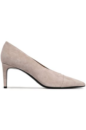 RAG & BONE Suede and leather pumps