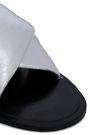 RAG & BONE Metallic leather slides
