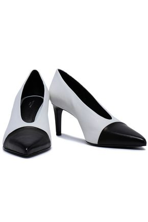 RAG & BONE Two-tone leather pumps