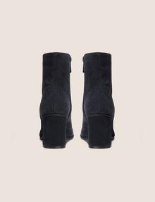 ARMANI EXCHANGE SUEDE BLOCK-HEELED BOOTIE Boots [*** pickupInStoreShipping_info ***] d