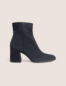 ARMANI EXCHANGE SUEDE BLOCK-HEELED BOOTIE Boots [*** pickupInStoreShipping_info ***] f