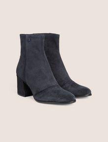 ARMANI EXCHANGE SUEDE BLOCK-HEELED BOOTIE Boots [*** pickupInStoreShipping_info ***] r
