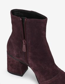 ARMANI EXCHANGE SUEDE BLOCK-HEELED BOOTIE Boots [*** pickupInStoreShipping_info ***] a
