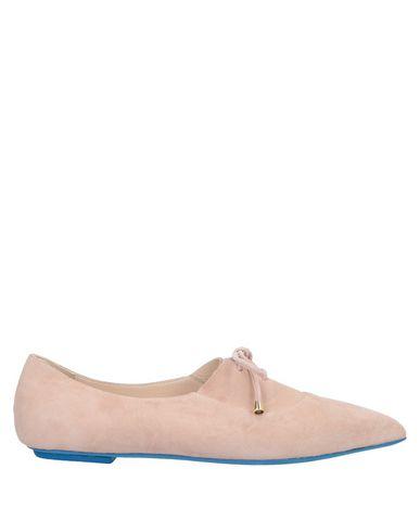 Купить Обувь на шнурках цвет телесный