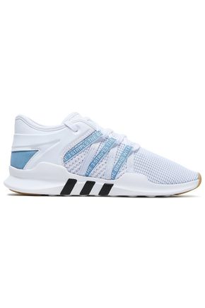 ADIDAS ORIGINALS Stretch-knit and leather sneakers