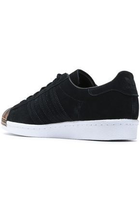 ADIDAS ORIGINALS Embellished suede sneakers