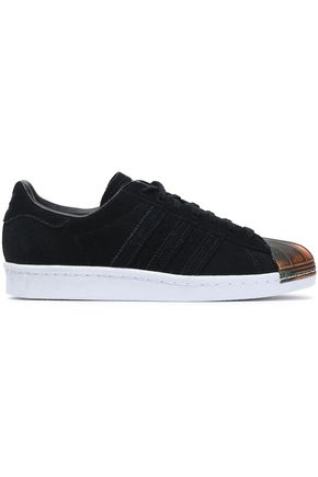 ADIDAS ORIGINALS Superstar 80s MT embellished suede sneakers