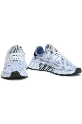 ADIDAS ORIGINALS Deerupt Runner stretch-knit mesh sneakers