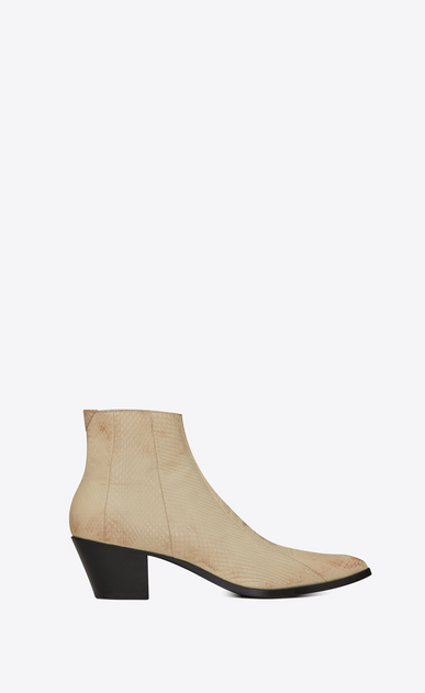 FINN boot in lacquered ayers