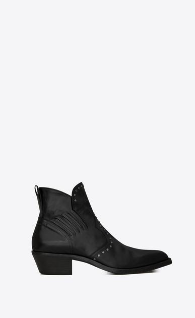 Dakota chelsea boots en cuir effet kangourou et clous