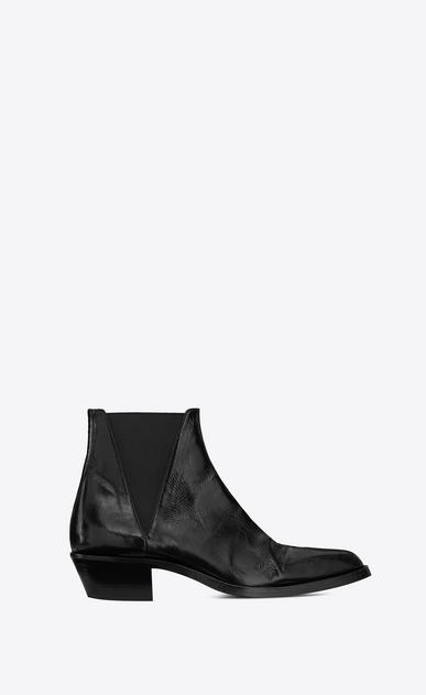 Dakota Chelsea boot in shiny leather