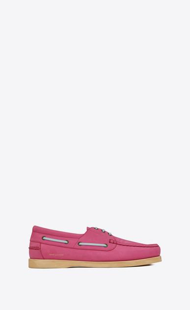 PHOENIX boat shoe in nubuck