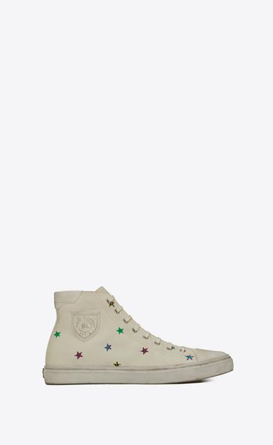 Bedford sneaker in fun star-print canvas
