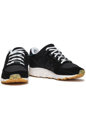 Suede and stretch knit sneakers | ADIDAS ORIGINALS | Sale up