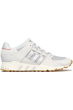 ADIDAS ORIGINALS EQT Support RF suede and stretch-knit sneakers