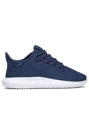 ADIDAS ORIGINALS Tubular Shadow suede and stretch-knit sneakers