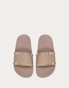 Rockstud rubber slides