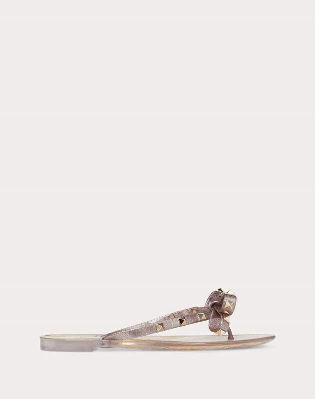 Rockstud Glittered Rubber Flip Flop