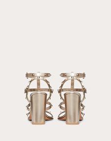 Rockstud Metallic Ankle Strap Sandal 90 mm