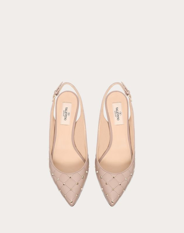 Rockstud Spike Slingback Pump 55mm
