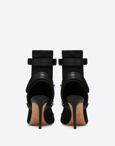 Stretch Open Toe Bootie 105mm