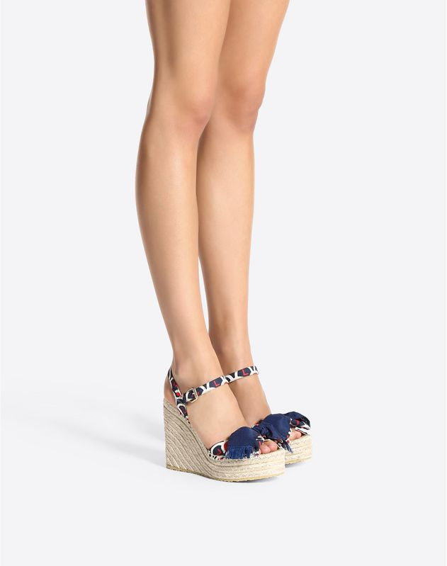 VLTN Scale Wedge Sandal 120mm