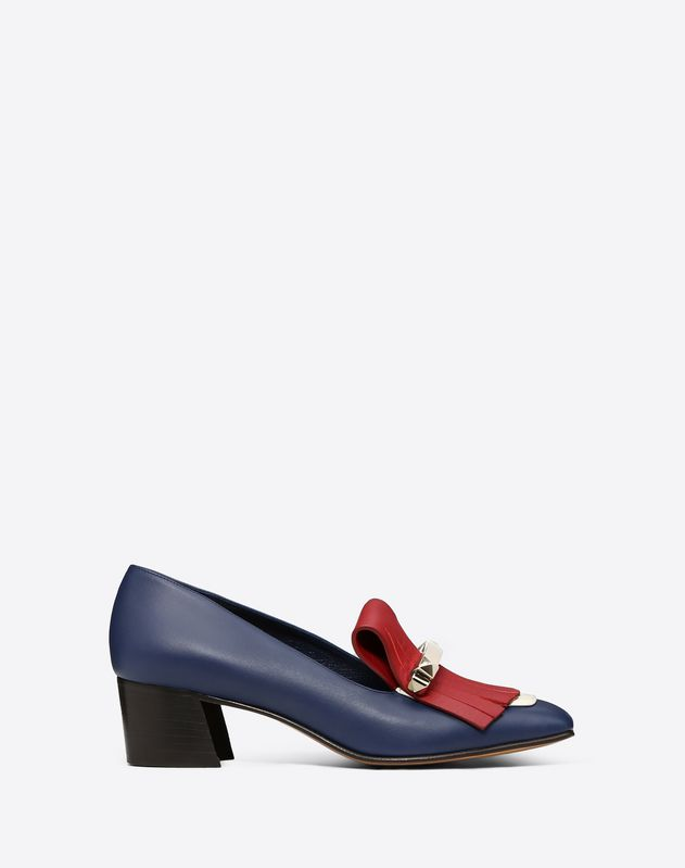 Fringe multicolor loafer 45mm