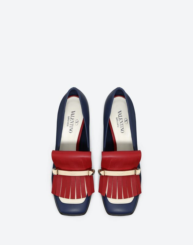 Fringe Multicolor Loafer 90mm