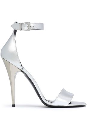 VERSUS VERSACE Metallic leather sandals