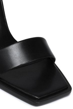 VERSUS VERSACE Leather sandals