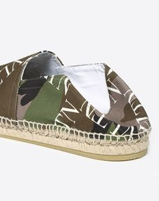 CANVAS ESPADRILLE WITH VLTN GRID