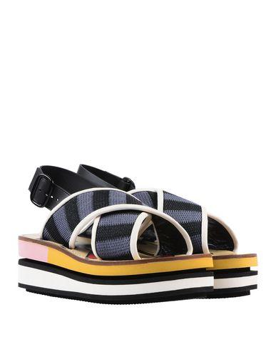 Фото 2 - Женские сандали  грифельно-синего цвета