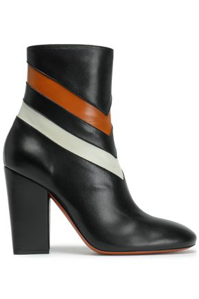 MISSONI Color-block leather ankle boots