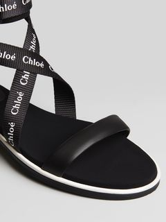 Veronica flat sandal