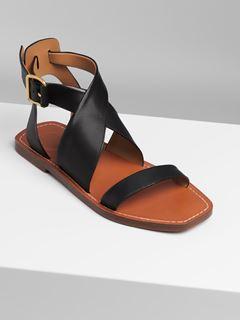 Virginia flat sandal