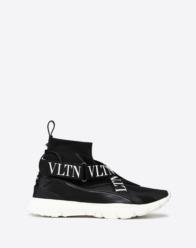 HEROES SOCK SNEAKER WITH VLTN BANDS