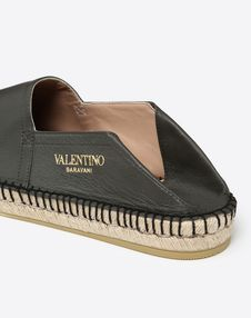NAPPA LEATHER ESPADRILLE