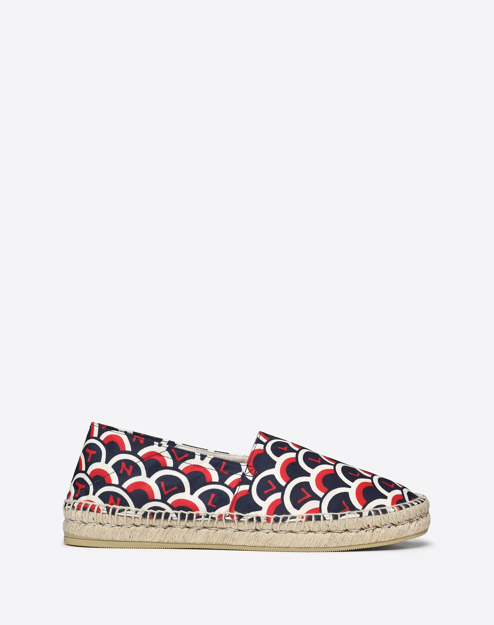 FABRIC SCALE PRINT ESPADRILLE
