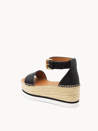 Glyn platform sandal