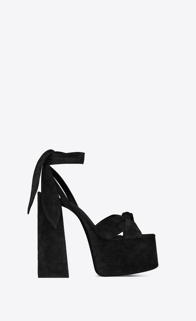 PAIGE Platform sandals in suede