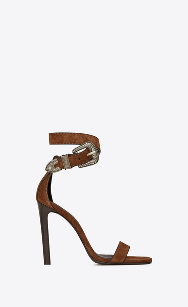 MICA Western sandals in suede 899e918413
