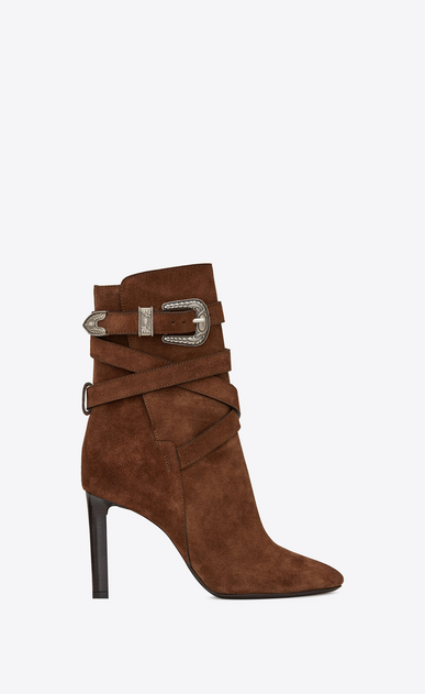 MICA Western ankle boots in suede