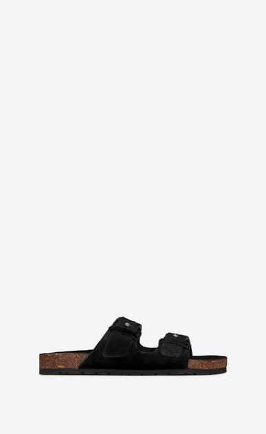 JIMMY Sandals in ponyskin-effect calfskin