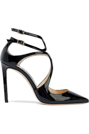 JIMMY CHOO Lancer 100 patent-leather pumps